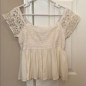 American Eagle Lacy Top
